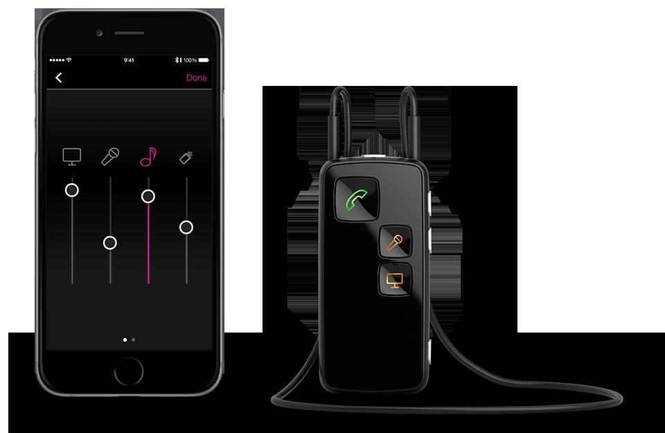 Máy trợ thính Geno 2 kết nối điện thoại