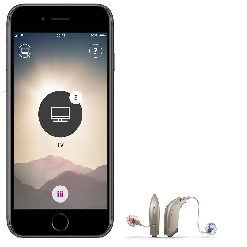 Máy trợ thính kết nối Iphone