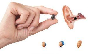 Cách đeo máy trợ thính Oticon Opn 1 IIC vào trong tai