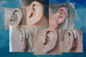 Máy trợ thính có những kiểu đeo cơ bản nào