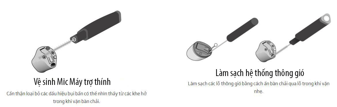 Quy trình bảo dưỡng máy trợ thính trong tai