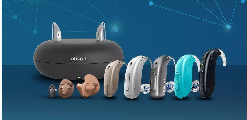 Máy trợ thính Oticon hỗ trợ chức năng nghe cho người bị suy giảm thính lực