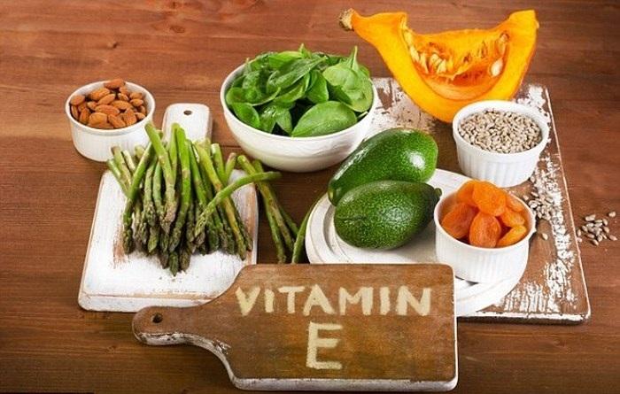 Nhóm thực phẩm chứa Vitamin E