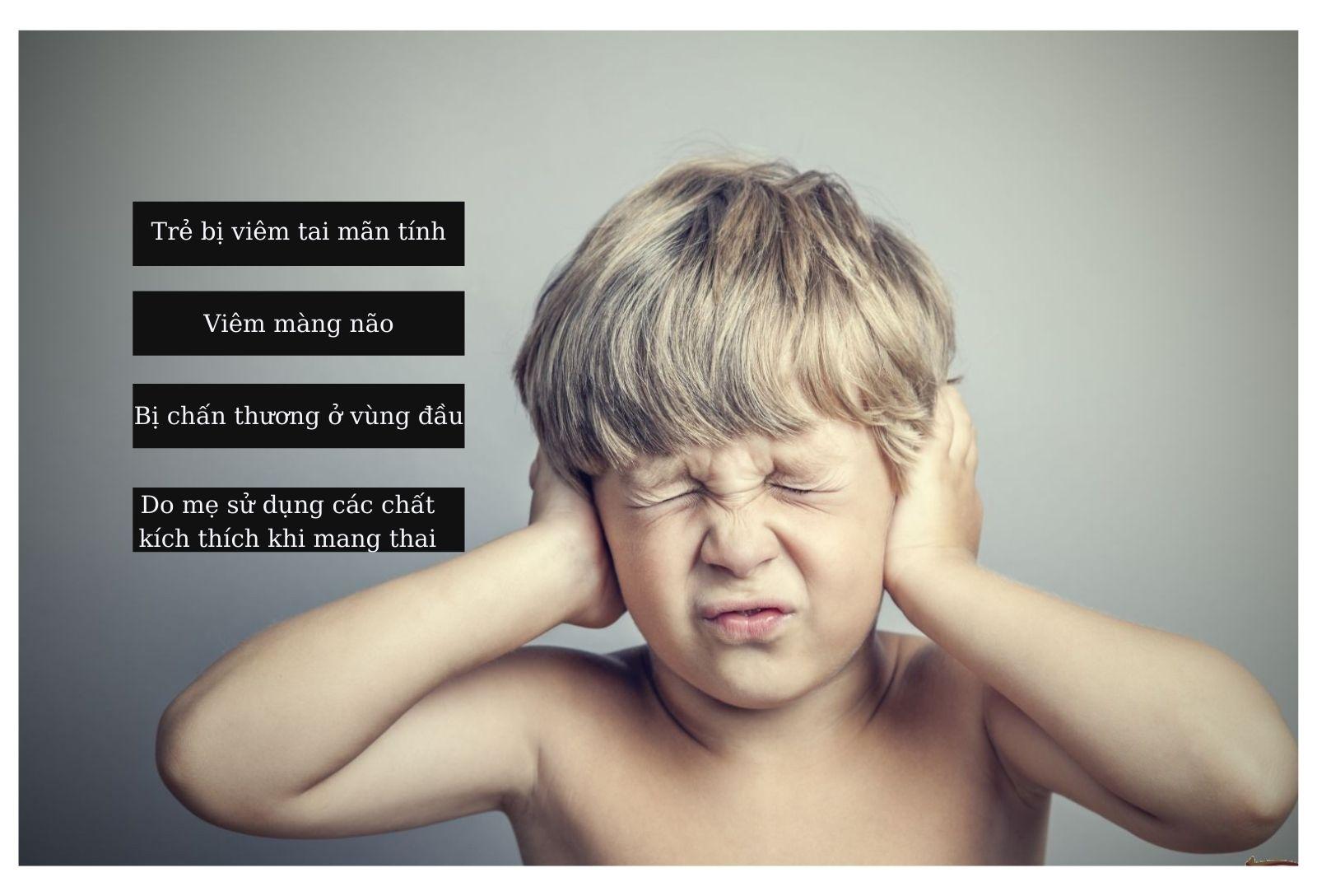 Nguyên nhân gây ra rối loạn tiền đình ở trẻ em