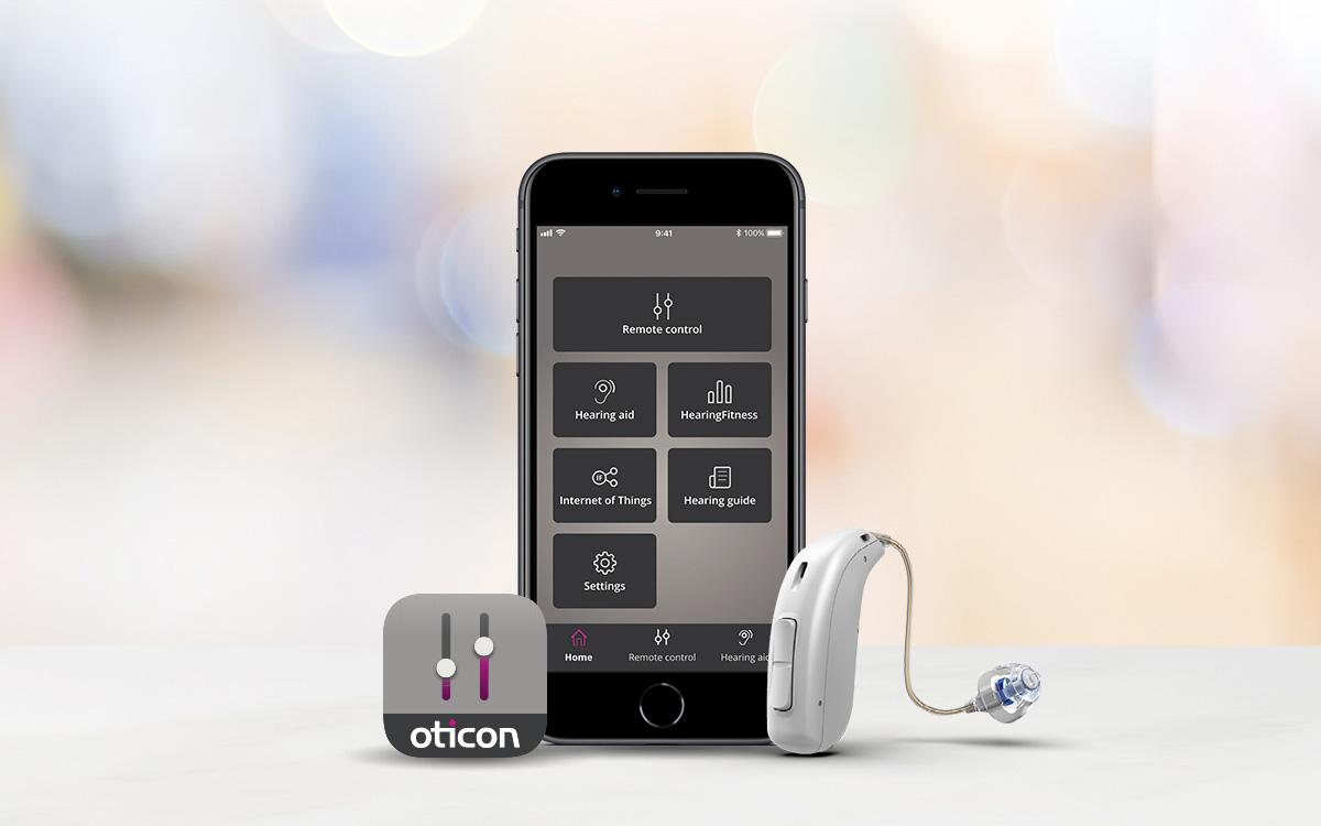 Máy trợ thính với khả năng kết nối với điện thoại