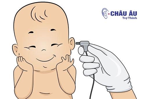 Sàng lọc thính lực ở trẻ sơ sinh