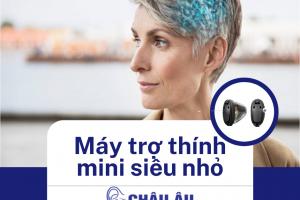 Máy trợ thính mini siêu nhỏ