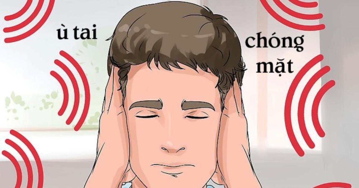 Meniere ( rối loạn thính lực ) ảnh hưởng nhiều đến sức khỏe của người bệnh